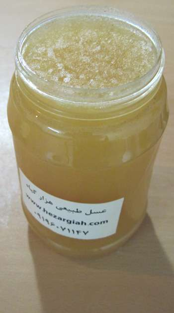 عسل زنده رس بسته