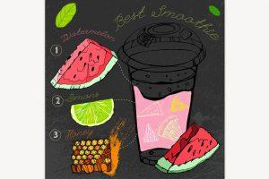 هندوانه و عسل داروی طبیعی افزایش میل جنسی