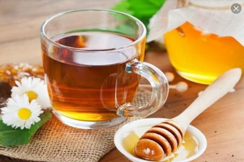 افطار با عسل و چای