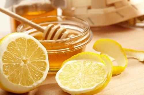 معجون عسل و آب لیمو
