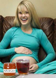 فواید عسل در بارداری