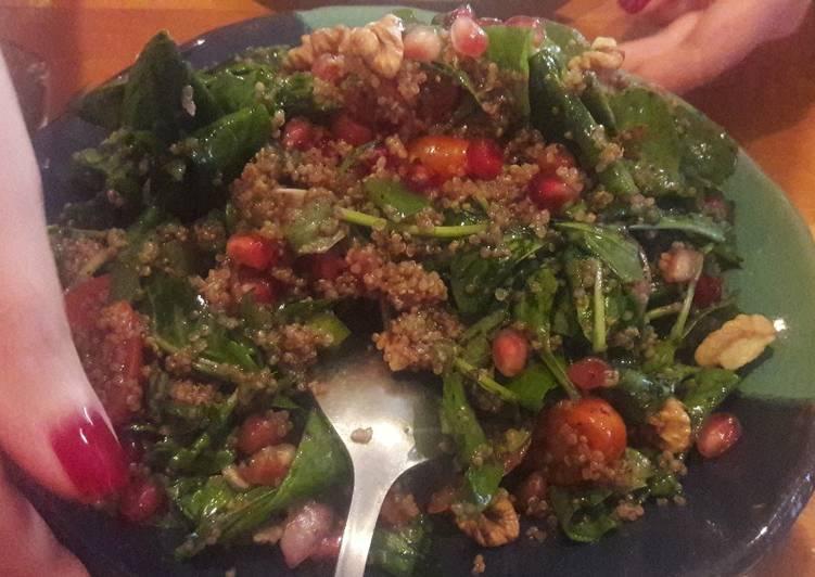 کینوا سالاد (quinoa)