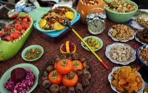 راهنمای خرید آجیل هندوانه انار و لبوی شب یلدا