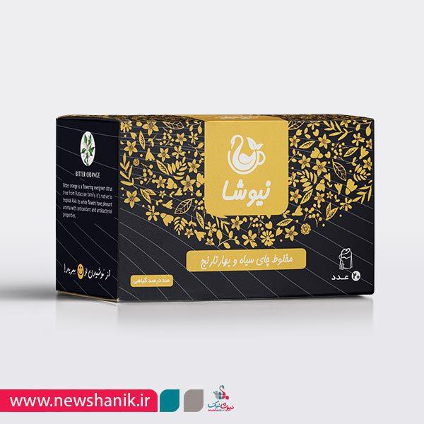 مخلوط چای سیاه و بهارنارنج
