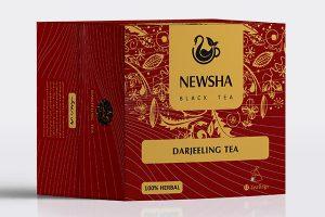 چای سیاه شکسته و دارجیلینگ مثلثی نیوشا