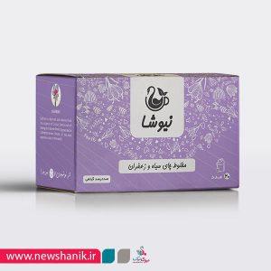 چای سیاه و زعفران کیسه ای نیوشا