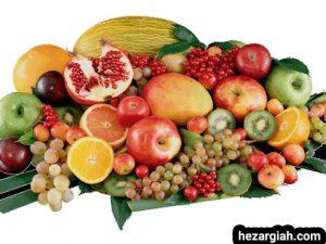 طبع خوراکی ها میوه ها