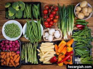 طبع خوراکی ها صیفیجات